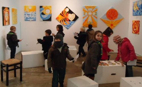 Exposition de Marie Noëlle Rolland
