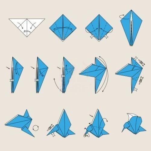 Origami ☆Oiseaux