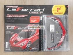 N° 1 Construisez la Ferrari à l'échelle 1/8 ème - Test