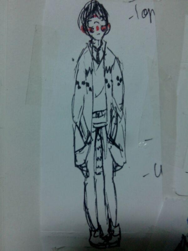 Les cours c'est fait pour dessiner.