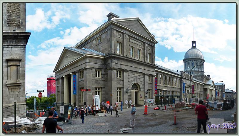 Le bâtiment Marché Bonsecours et la Chapelle Notre-Dame de Bon-Secours - Montréal - Québec - Canada