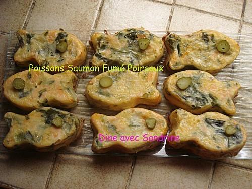 Poissons Saumon Fumé Poireaux 7