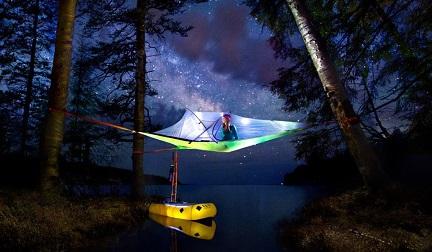 Nuit à la belle étoile ...