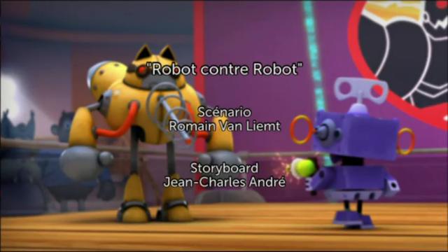 Robot contre Robot