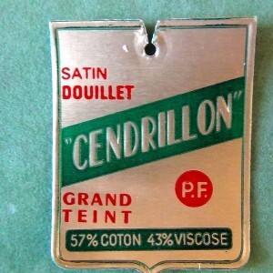 Etiquette Cendrillon