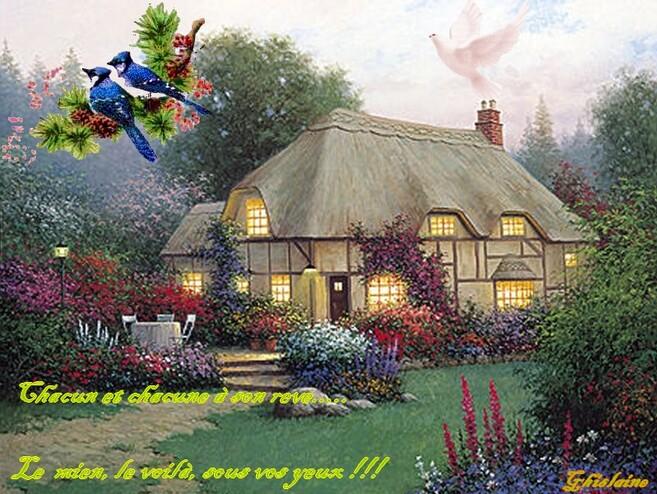 La maison au toit de chaume