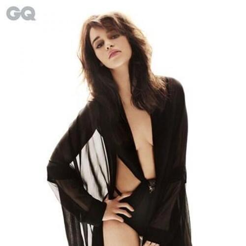 Emilia Clarke est la femme la plus sexy au monde..