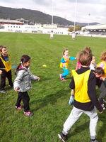 nos matchs de rugby