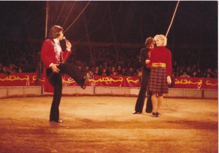 Nandy Werl, Monsieur Loyal emblématique du cirque  Pinder-Jean Richard