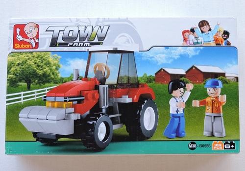 SLUBAN - Tracteur (103 pièces)