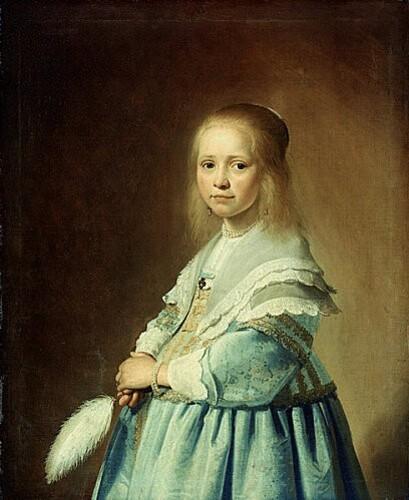 490px-Jan Cornelisz Verspronck - Portret van een meisje in
