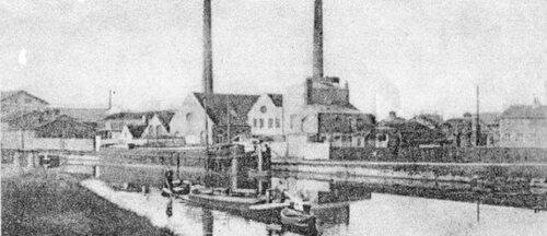 Il y a presque cent quinze ans se Construisait l'usine de Laire