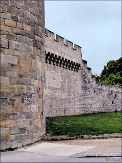 Photo des remparts de Guérande en Loire-Atlantique