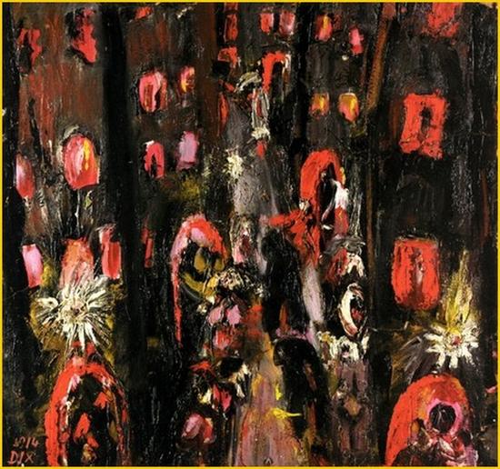 Otto Dix, La rue des bordels