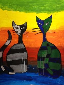 Les chats des CE1-CE2