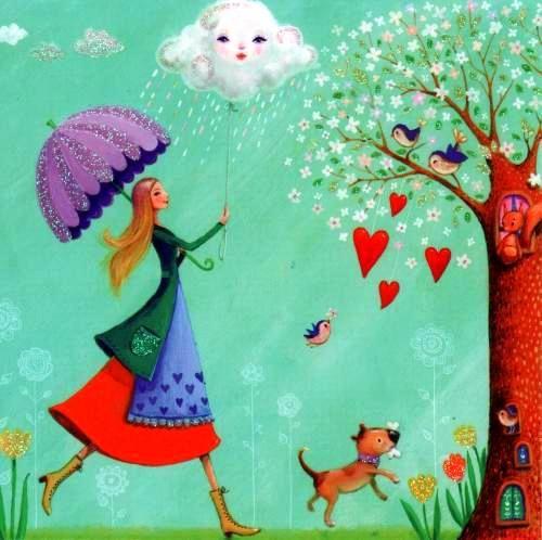 Joyeux printemps - Au Gré de mes F@ntaisies