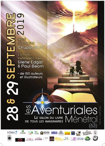 Dédicaces : Les Aventuriales 28 et 29 septembre 2019