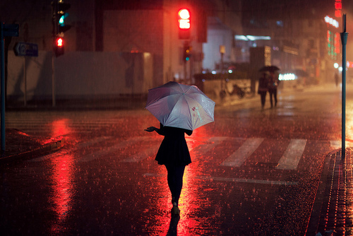 07 - Un peu de couleur sous la pluie