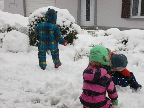 De la neige maîtresse