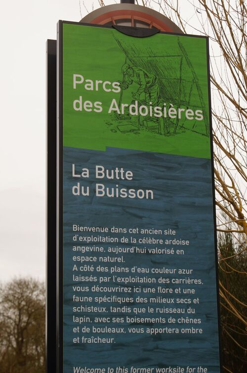 La butte du Buisson
