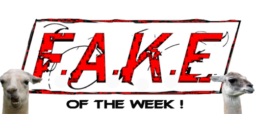 FAKE OF THE WEEK (new topic)