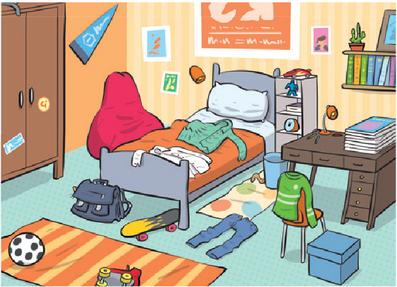 Ben's bedroom