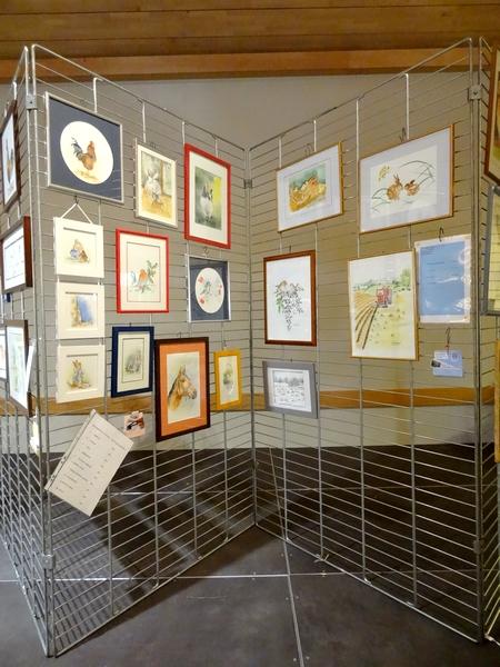 Artistes et artisans au salon avicole 2014 de Châtillon sur Seine