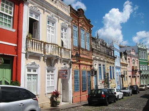 Patimoine mondial de l'Unesco : Le centre historique de Salvador de Bahia - Brésil -