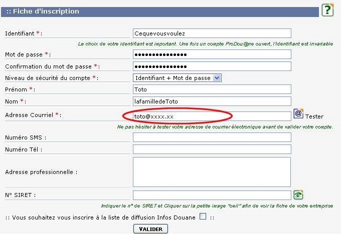 Recevoir vos accusés de réception et changement de mail