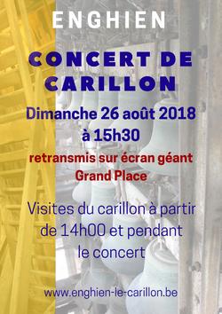 Concert de carillon - 26 août 2018