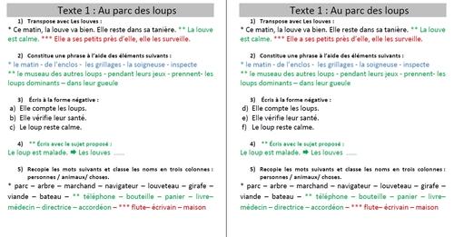 La grammaire au jour le jour tome 2 : les exercices