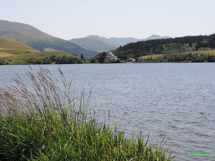 le lac de Guery dans le Puy de Dome