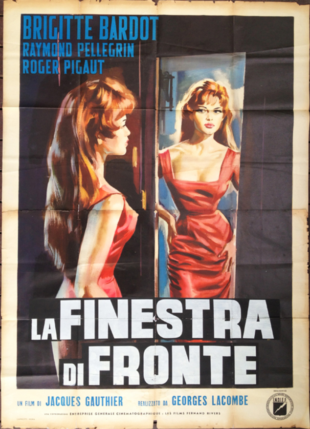 LA LUMIERE D'EN FACE - BOX OFFICE BRIGITTE BARDOT 1956