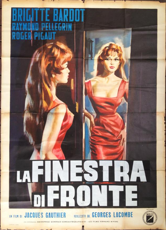 LA LUMIERE D'EN FACE - BOX OFFICE BRIGITTE BARDOT 1956