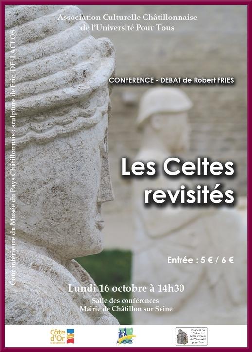 """""""Les Celtes revisités"""", une conférence de Robert Fries pour l'Association Culturelle Châtillonnaise"""