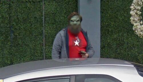 """Google Street View : un utilisateur """"figé de peur"""" !"""