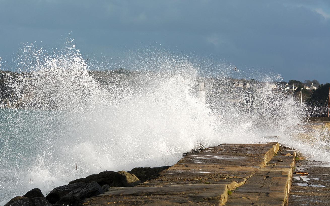 Tempête à Camaret Sur Mer