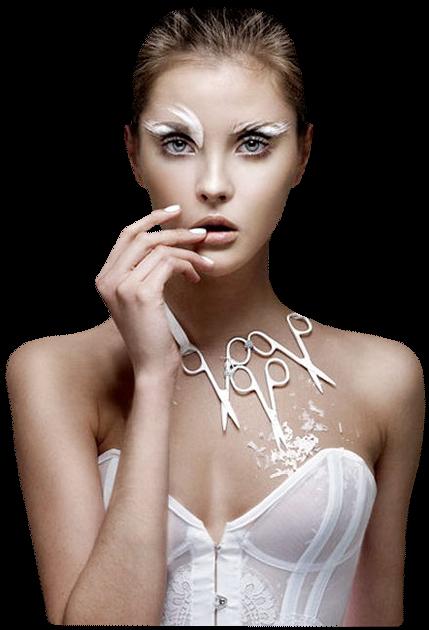 Tubes Femmes en Blanc