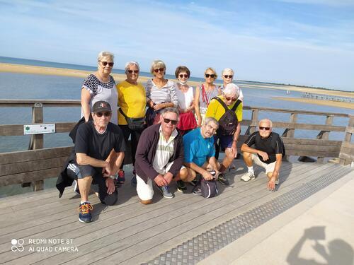 Marche: groupe seniors