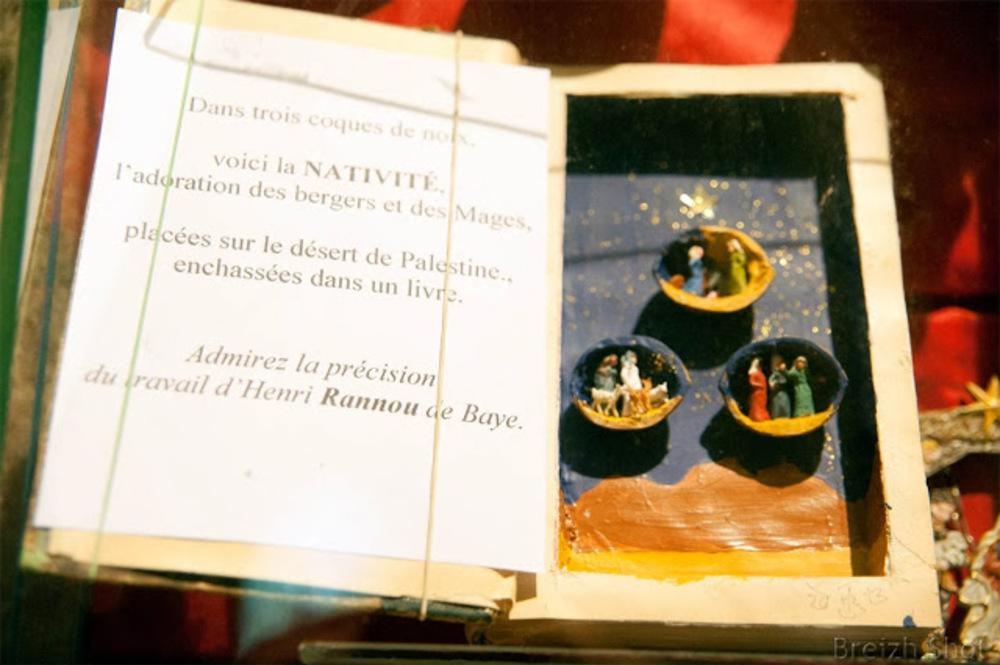 Crèche de Noël miniature - Bretagne