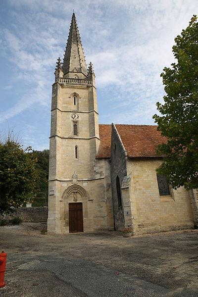 Eglise Saint-Saturnin à Baurech - PA00083129 - Monumentum