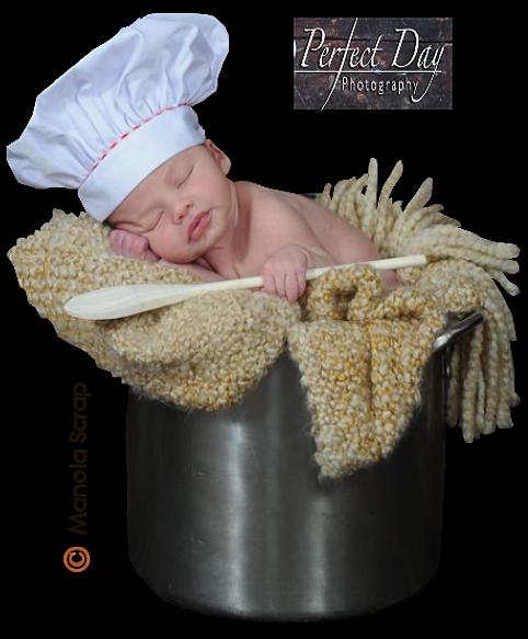 les bébés cuisinier
