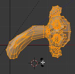 Curseur de la souris près du curseur 3D
