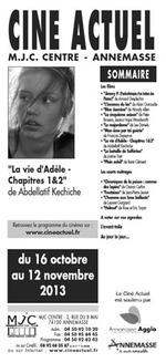 Programme du 16 octobre au 12 novembre 2013