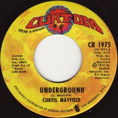 1972 : Single SP Curtom Records CR 1975 [ US ]