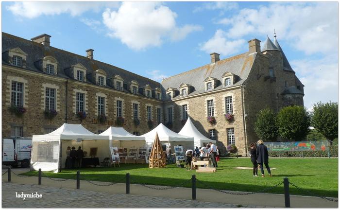 Le château de Châteaugiron - Journées du Patrimoine .