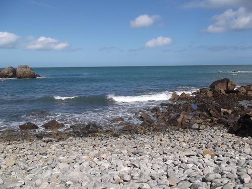 La mer cet après midi mon petit paradis