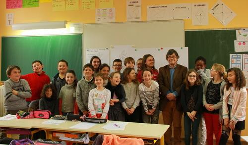 Visite de Gilles Bachelet