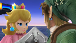 Link et Peach, ensembles?