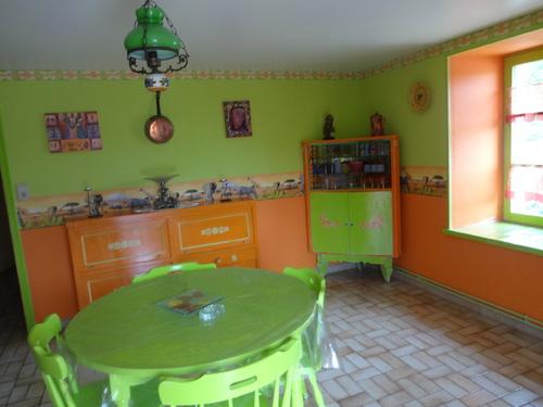 ma cuisine d'été au sous sol